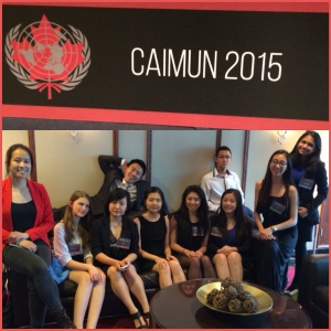 CAIMUN GROUP PHOTO